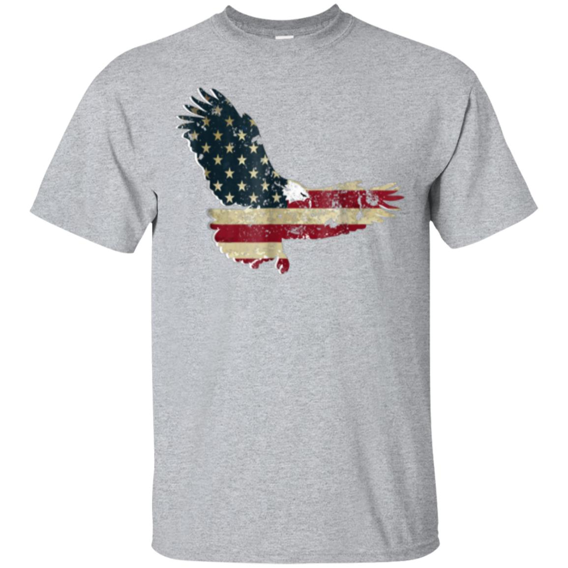 Patriotic Eagle USA American Flag T-shirt 99promocode