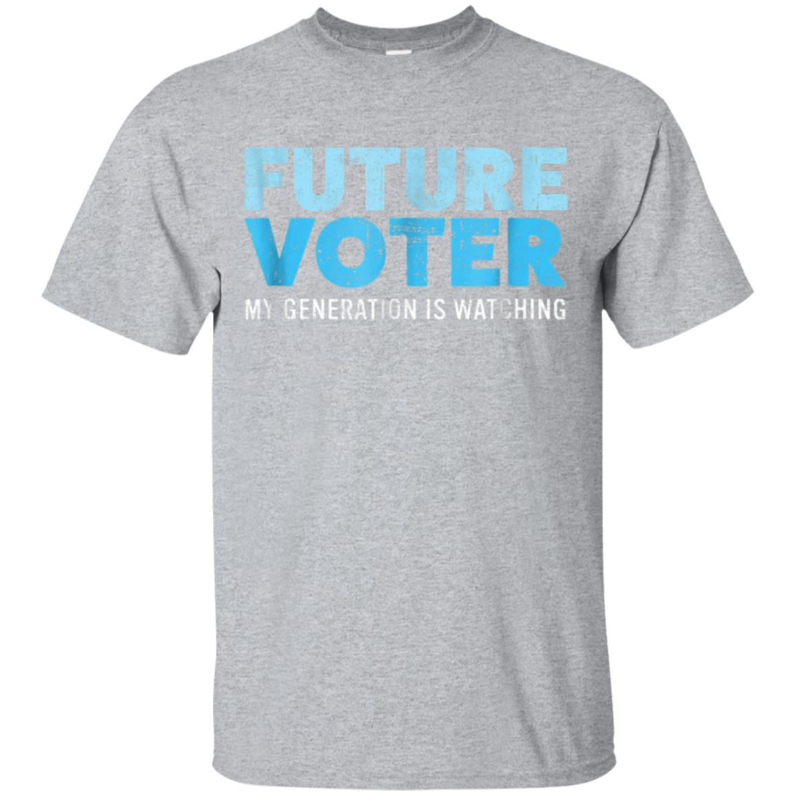 Future Voter Shirt Resist Political T-Shirt for Kids & Teens 99promocode
