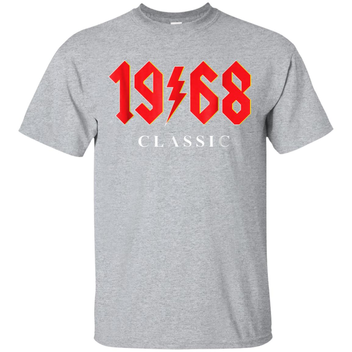 1968 Classic Rock 50th Birthday Gift T Shirt 99promocode