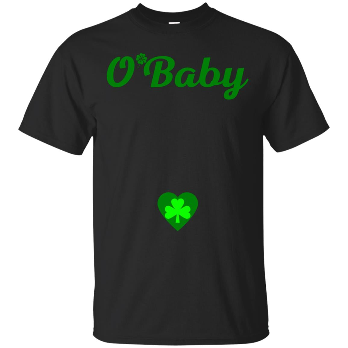 O'Baby St Patrick's Day Pregnancy Announcement Shirt 99promocode