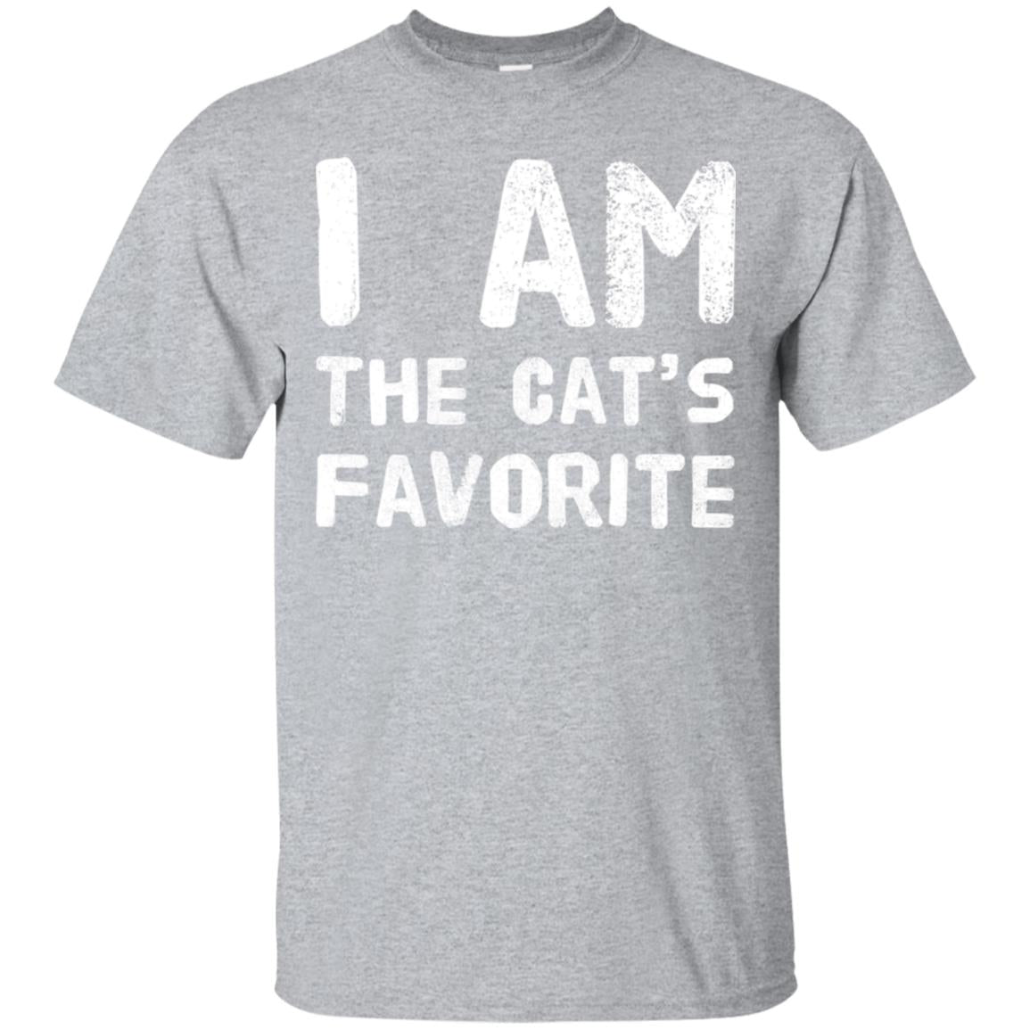 I Am The Cats Favorite Funny Novelty Cat Lovers T-Shirt 99promocode