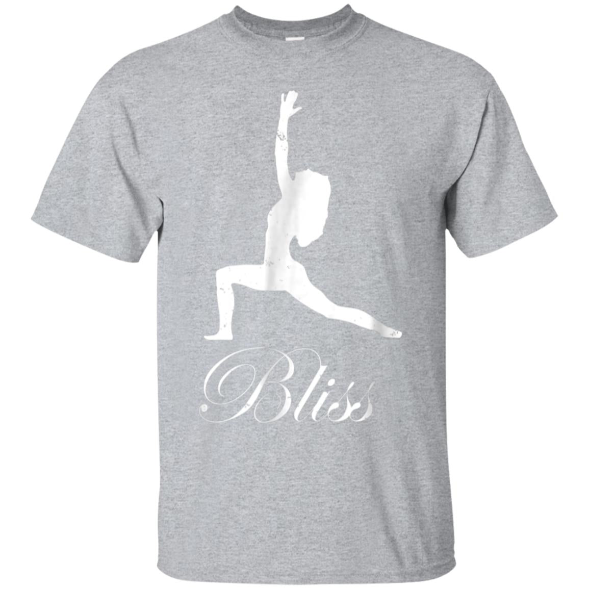 Bliss Warrior T-shirt  Yoga Peace and Meditation 99promocode