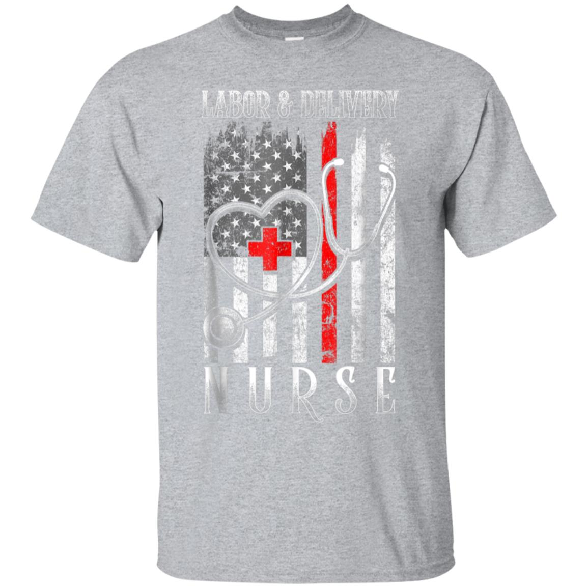 Distressed Flag Labor & Delivery nurse 4th Of July Gift Tee 99promocode