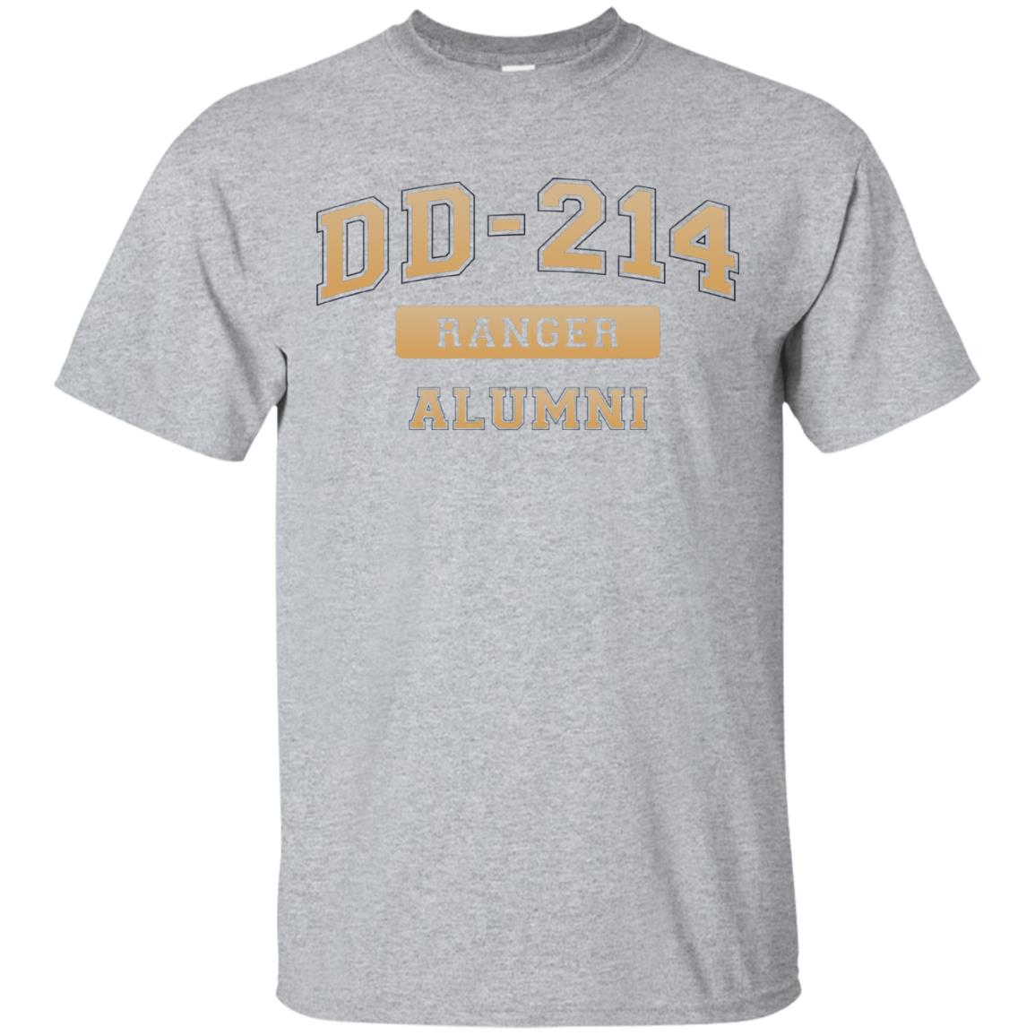 Awesome Dd 214 Us Army Ranger Tan Alumni T Shirt 99promocode