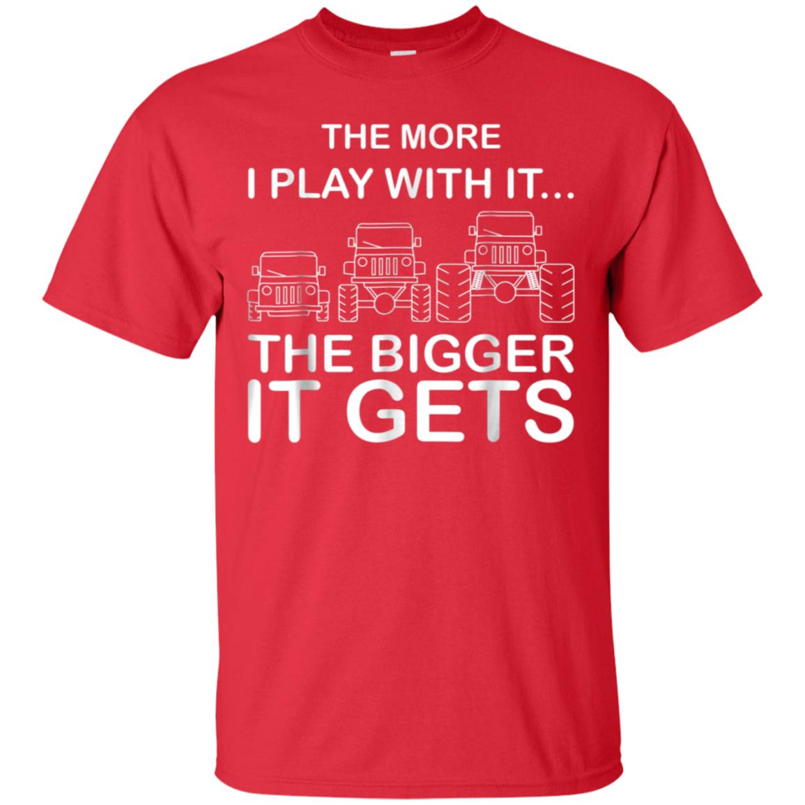 Cool The More I Play With It...The Bigger It Gets Men Shirt 99promocode
