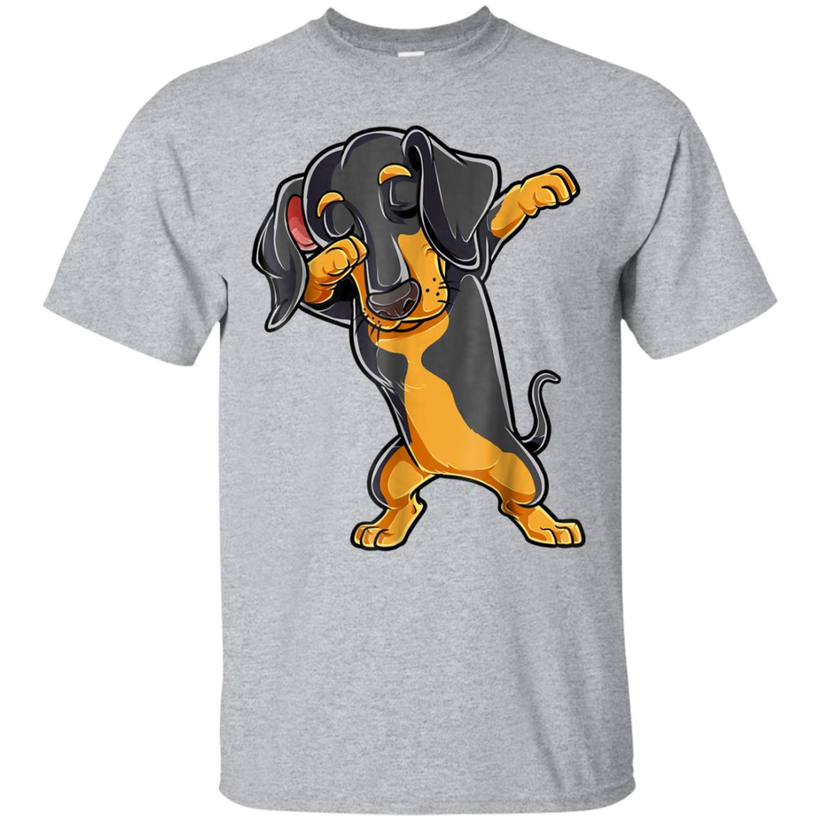 Dabbing Dachshund T shirt Boys Dab Dance Puppy Lovers Gifts 99promocode