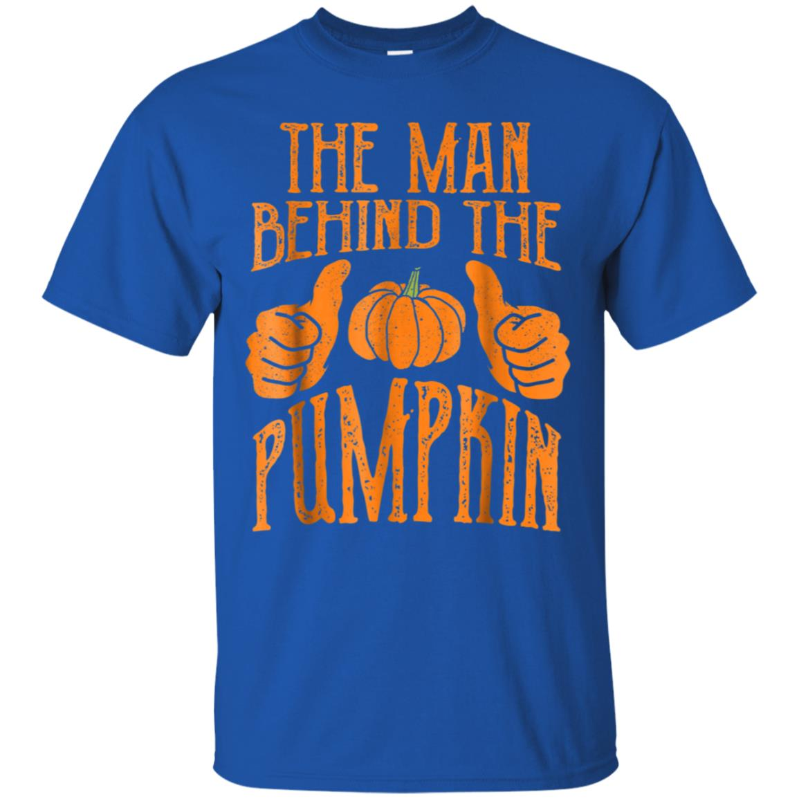Halloween Funny Dad His Guy Man Behind The Pumpkin T-Shirt 99promocode