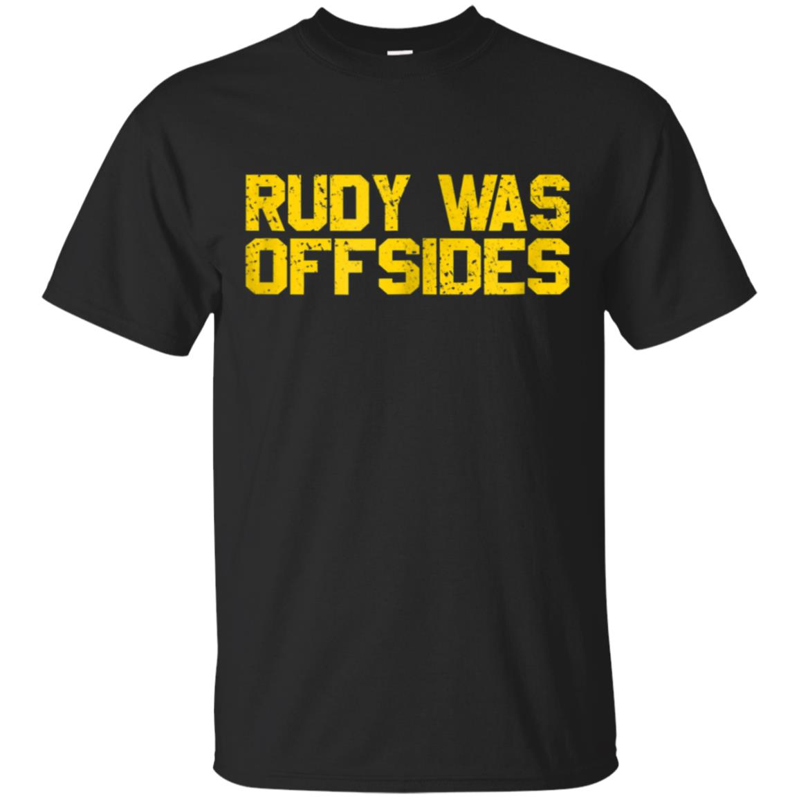 Rudy Was Offsides Funny Anti South Bend Sports Fan Shirt 99promocode