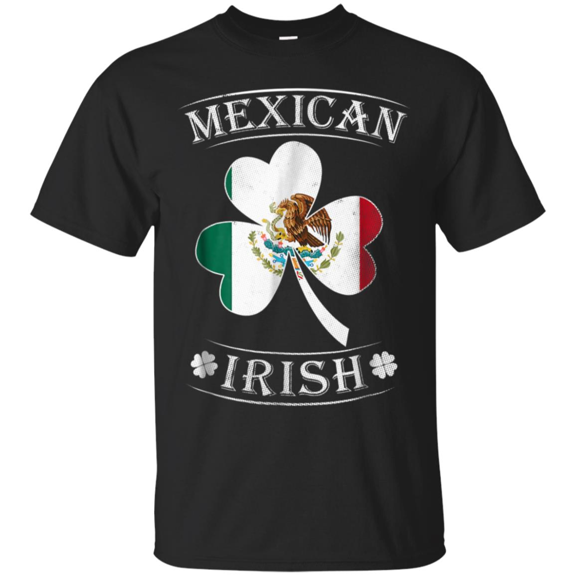 Mexican Irish Shirt Flag of Mexico 99promocode