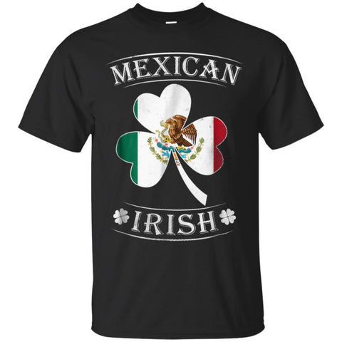 Mexican Irish Shirt Flag of Mexico