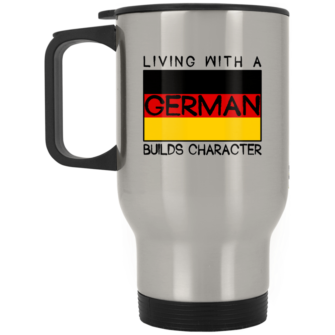 Mug Living with a German builds character 99promocode