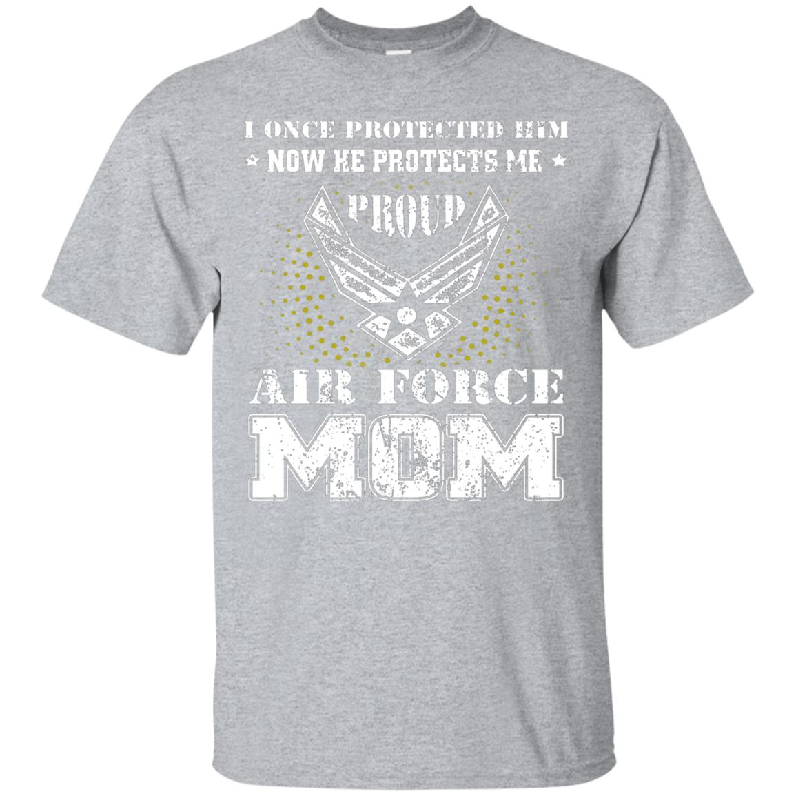 Pride U.S Army - Proud Air Force Mom He Protects T-shirt 99promocode