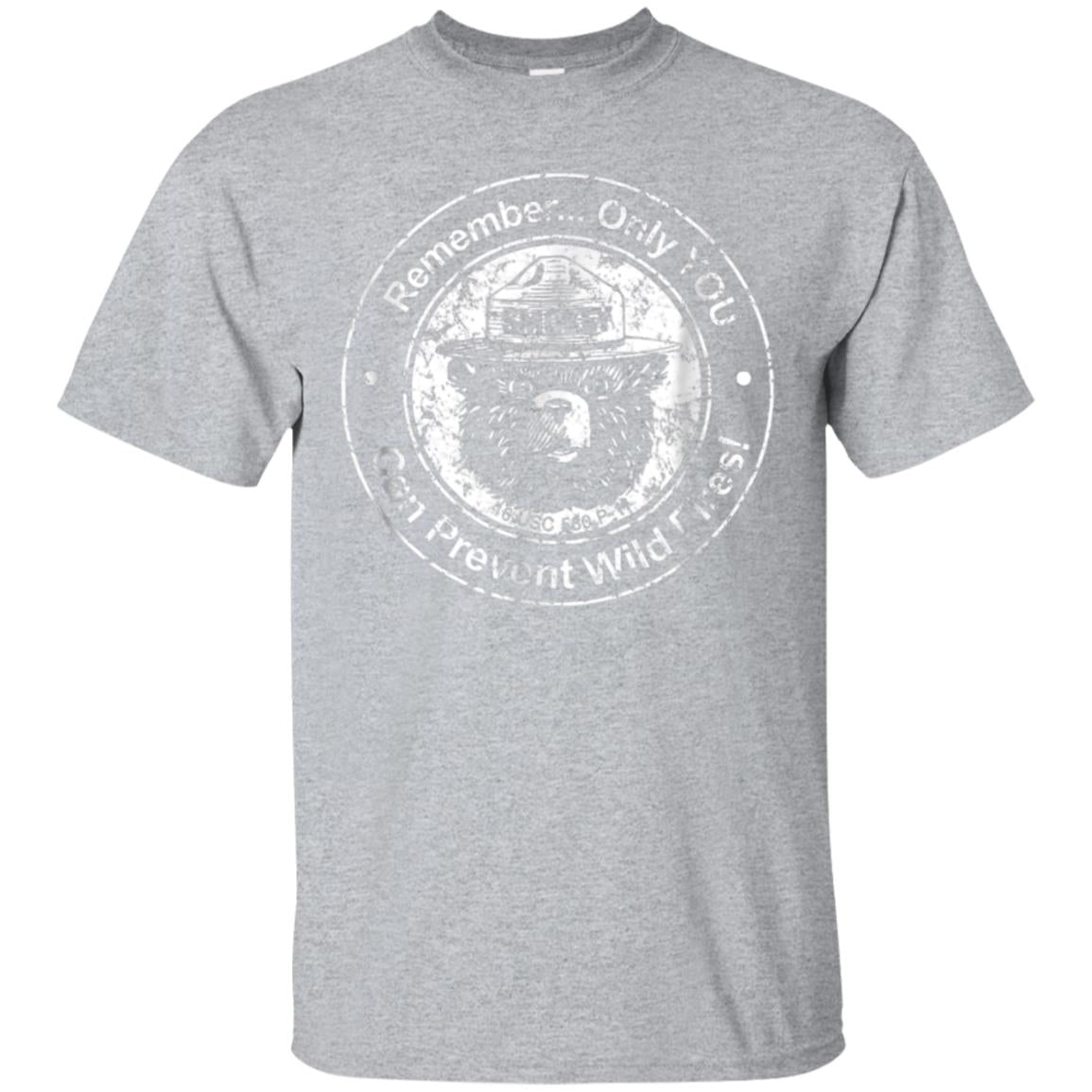 Smokey Bear Only You can Prevent etc - Seal T-shirt 99promocode
