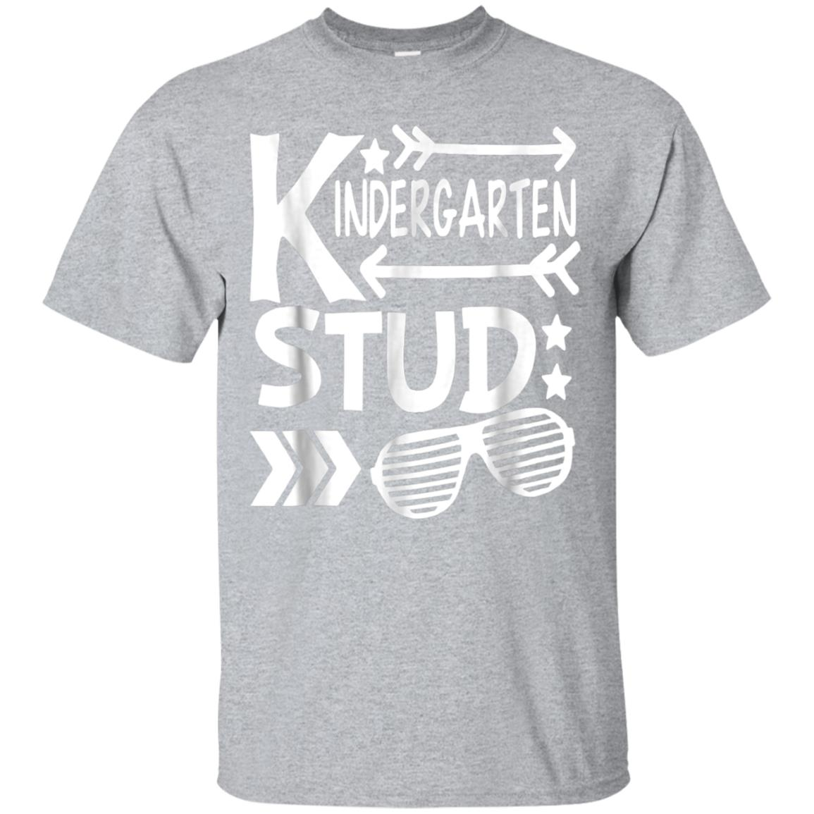 Kindergarten Stud T Shirt, Back To School Tee Gift 99promocode