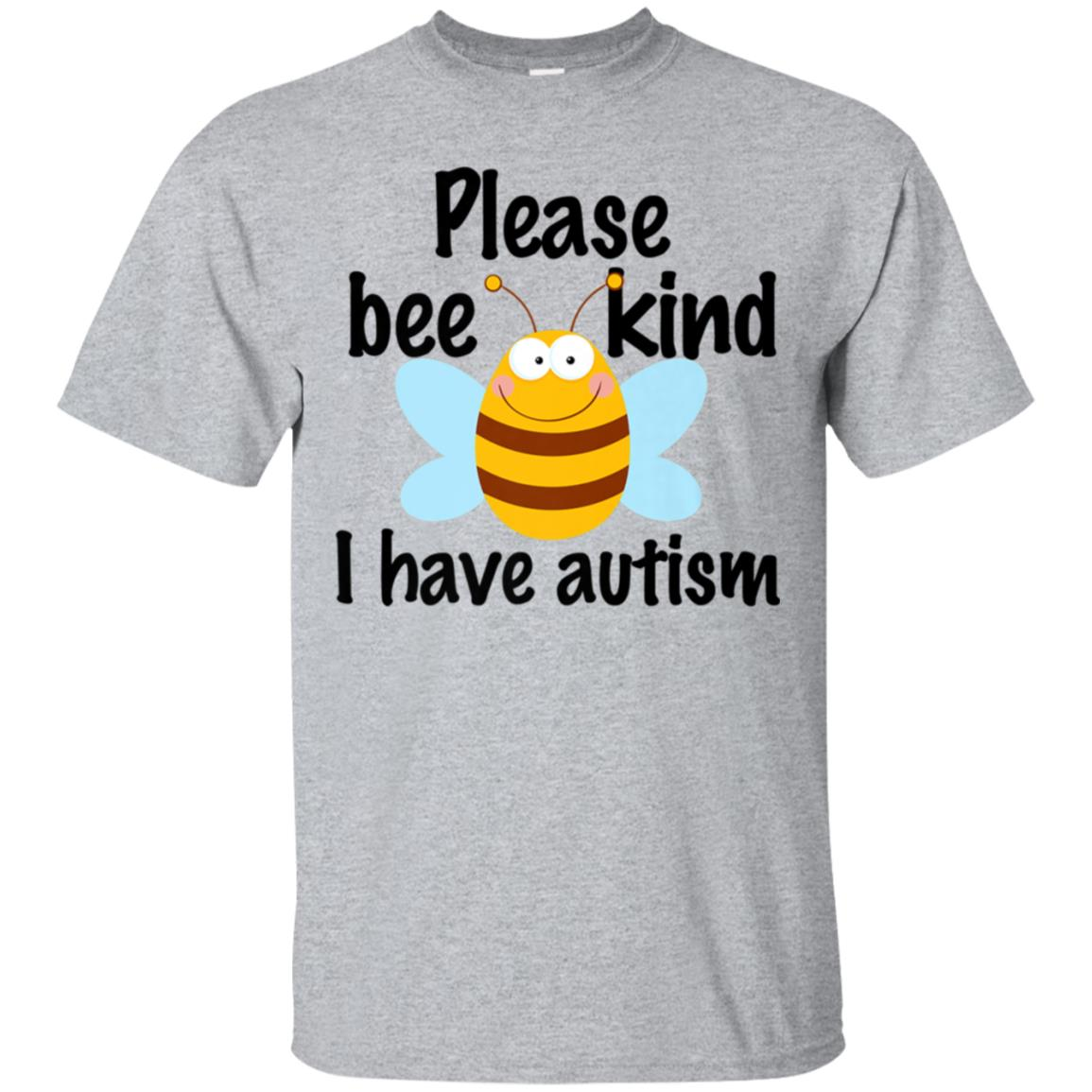 Cute Autism T-Shirt - Please Bee Kind I Have Autism 99promocode