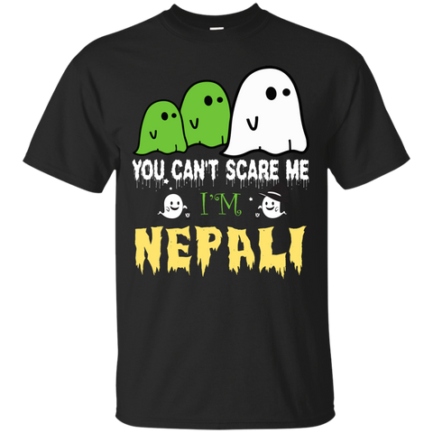 Halloween You can't scare me, i'm NEPALI