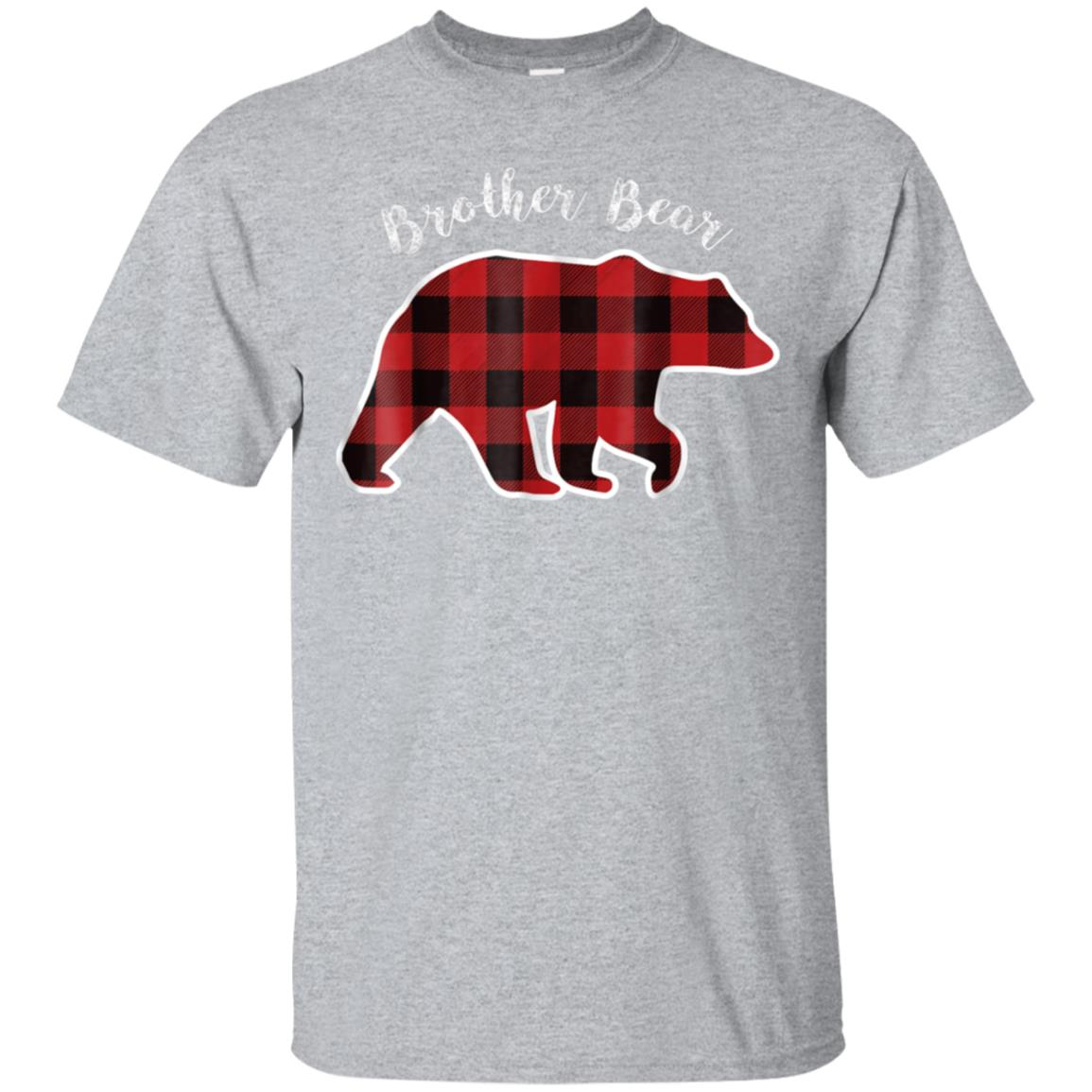 BROTHER BEAR  Men Red Plaid Christmas Pajama Family Gift 99promocode