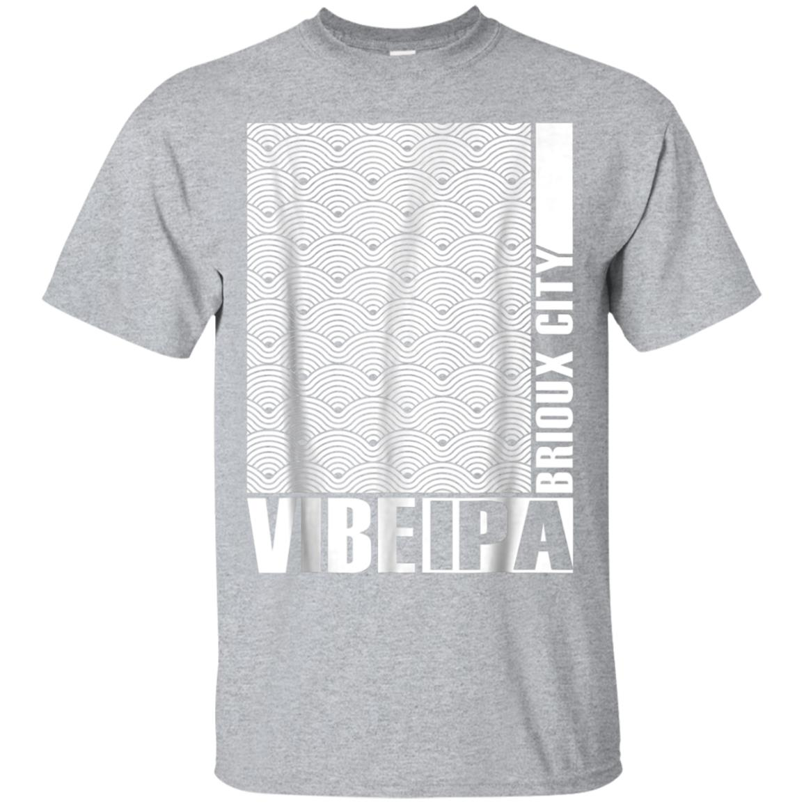 Vibe Rations IPA Brioux City Tee Shirt Sioux City Iowa 99promocode