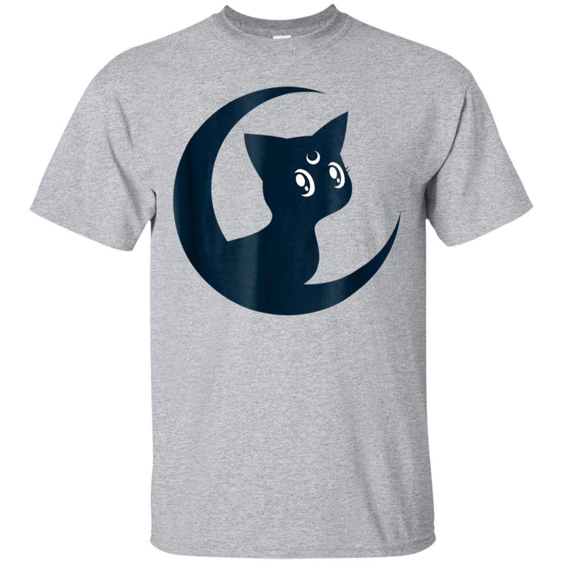 Sailor Cat Crescent Moon Anime Nerdy T-Shirt 99promocode