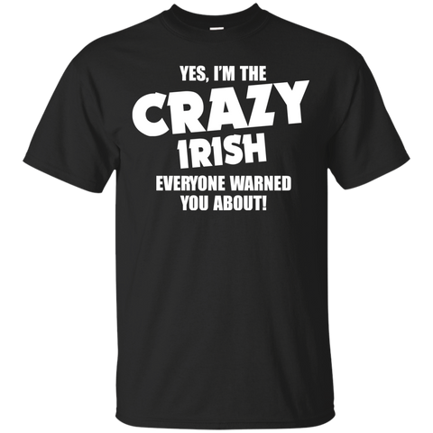 I'm the Crazy irish