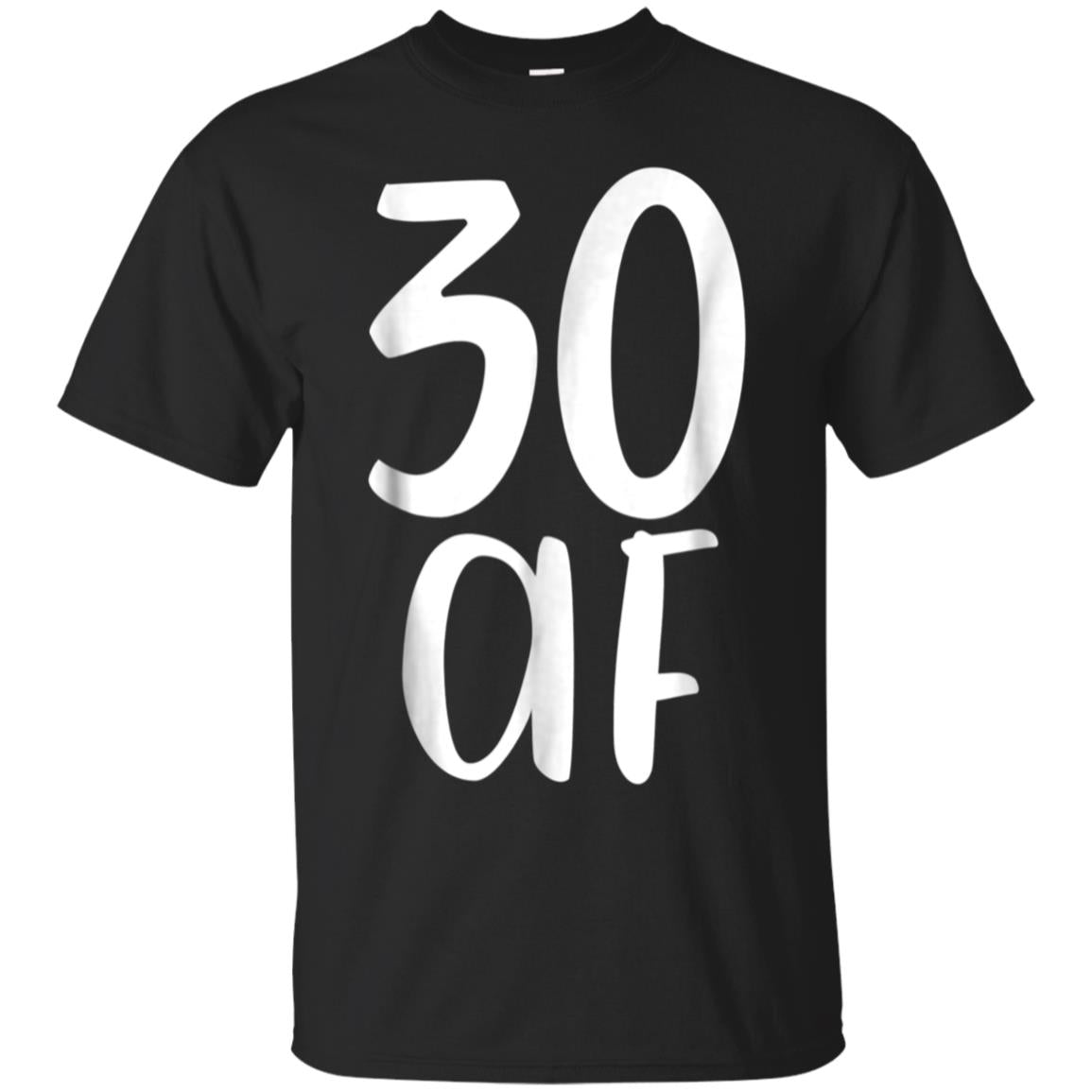 8542b1c5 Awesome 30 af fabulous funny tee shirt gift 30th birthday present ...
