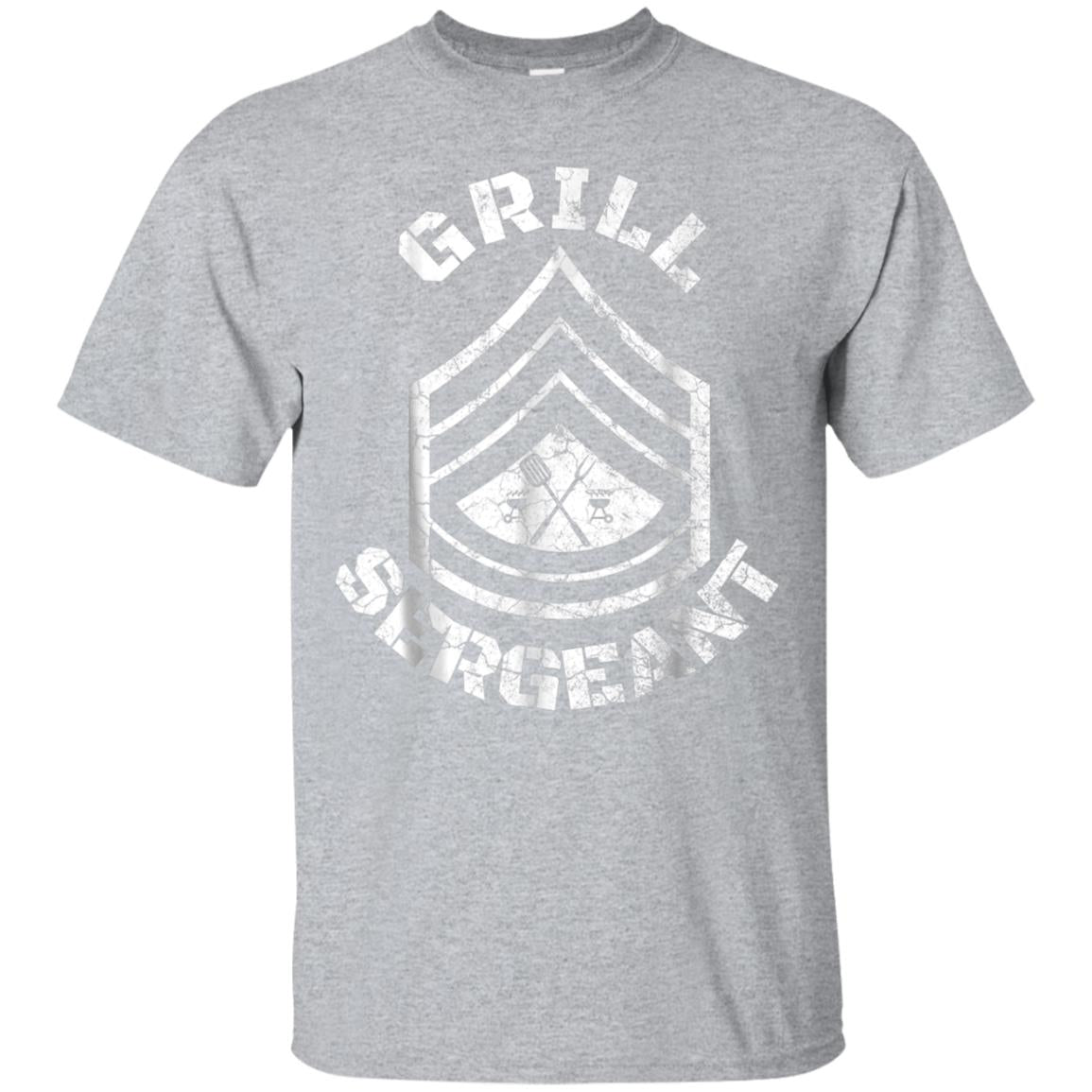 GRILL SERGEANT Shirt Funny Grilling BBQ Dad Father's Day Tee 99promocode