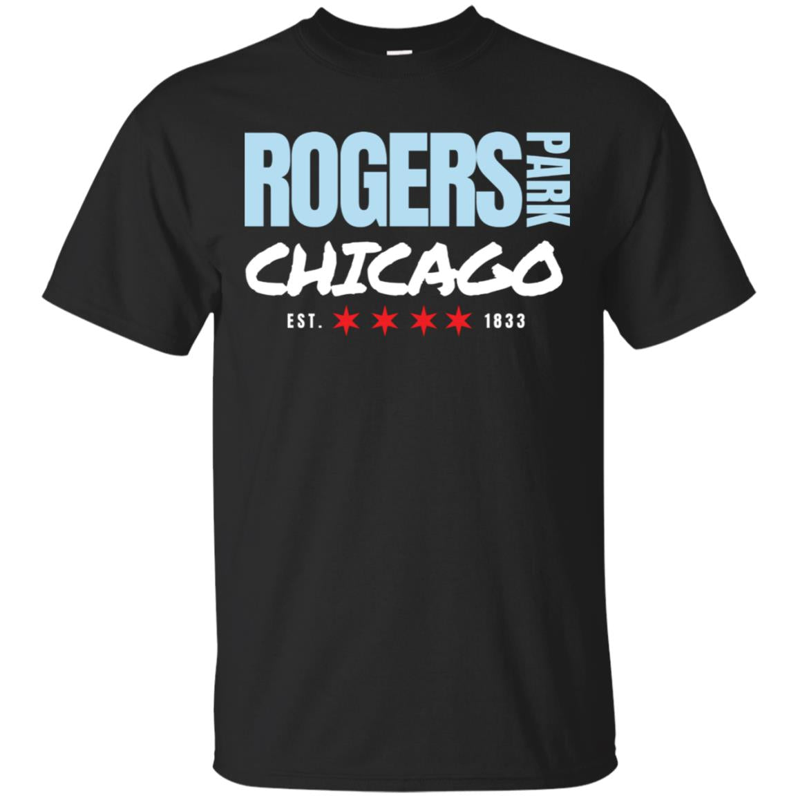 Rogers Park Chicago T-Shirt for Men Women 99promocode