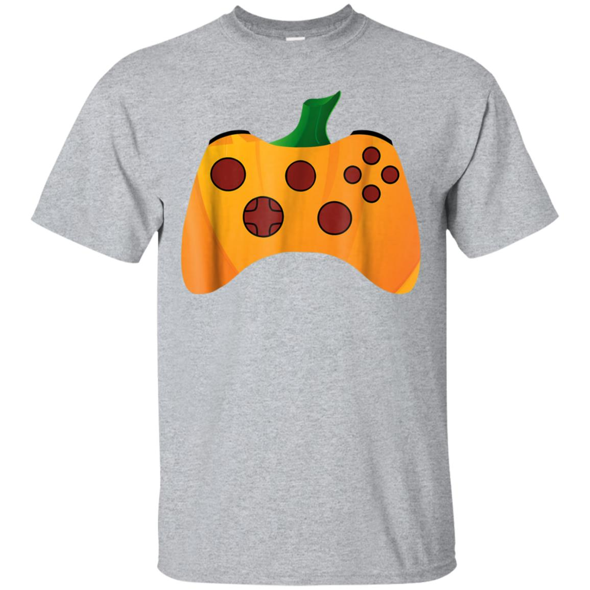 Video Gamer Halloween Shirt Funny Pumpkin Costume TShirt 99promocode