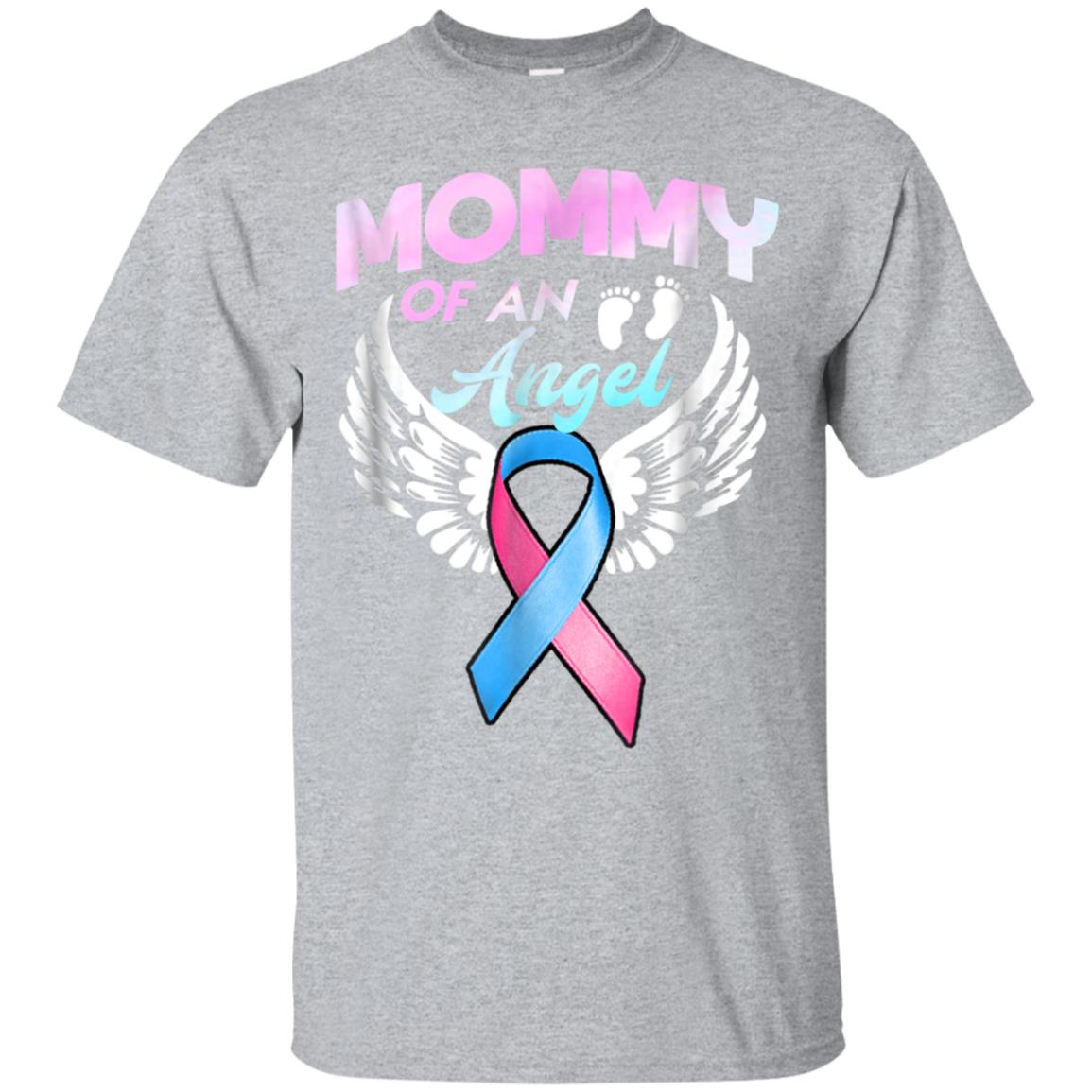 Angel Mommy T-Shirt. Miscarriage Awareness Infant Loss Tee 99promocode