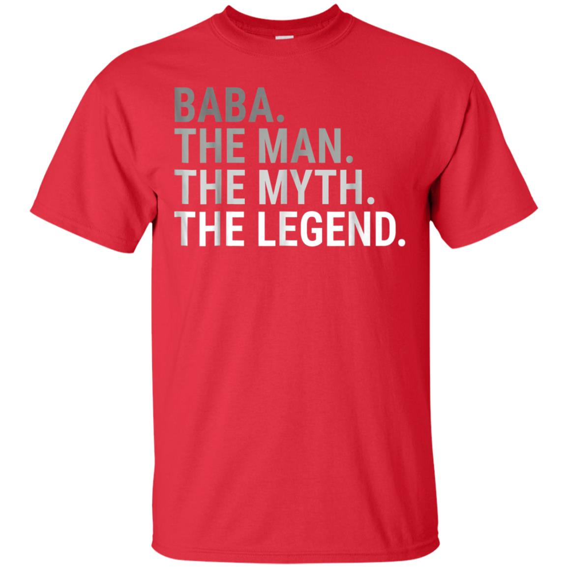 Baba The Man The Myth Legend Father's Day Gift For Grandpa 99promocode