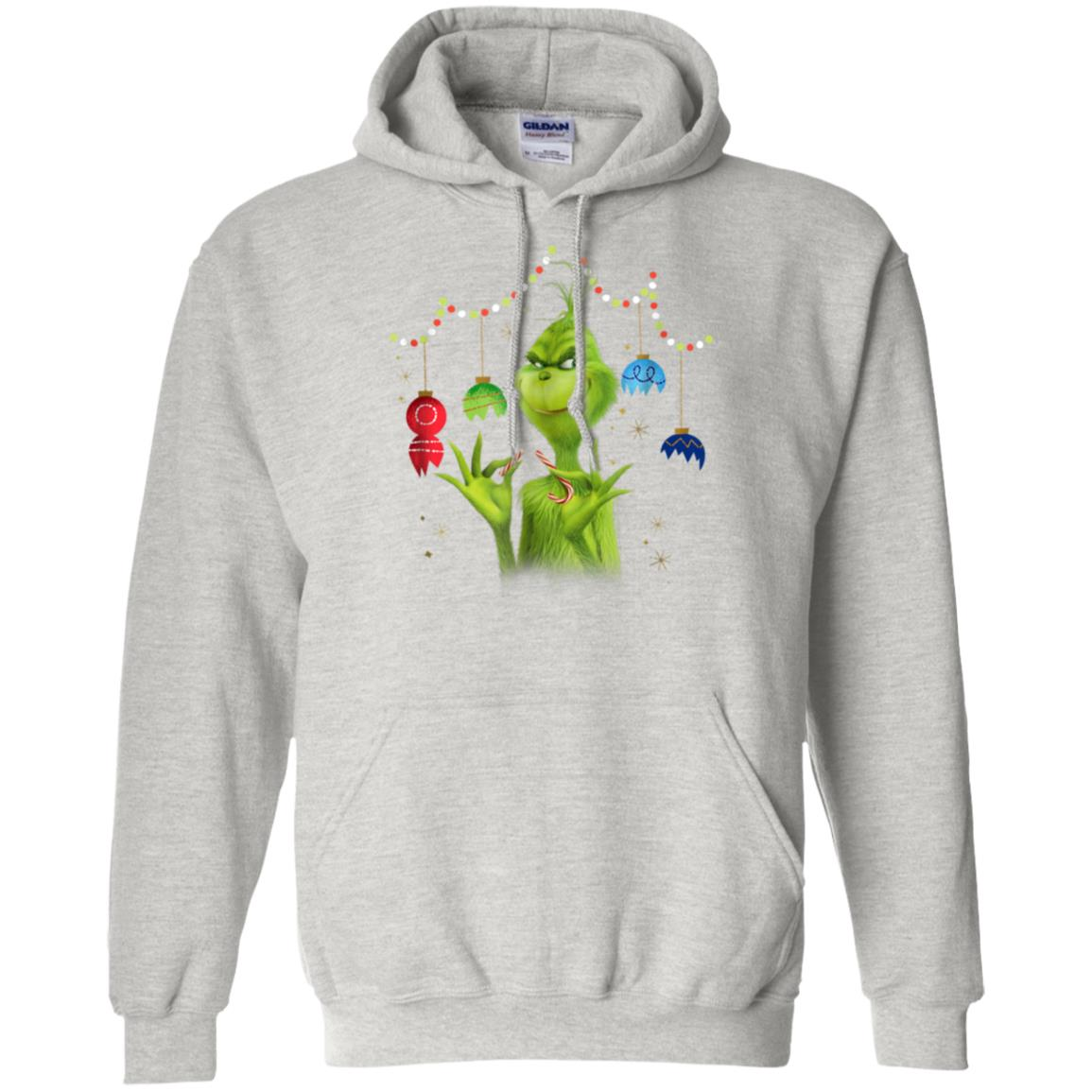 Dr Suess The Grinch Being Jolly T-Shirt Hoodie