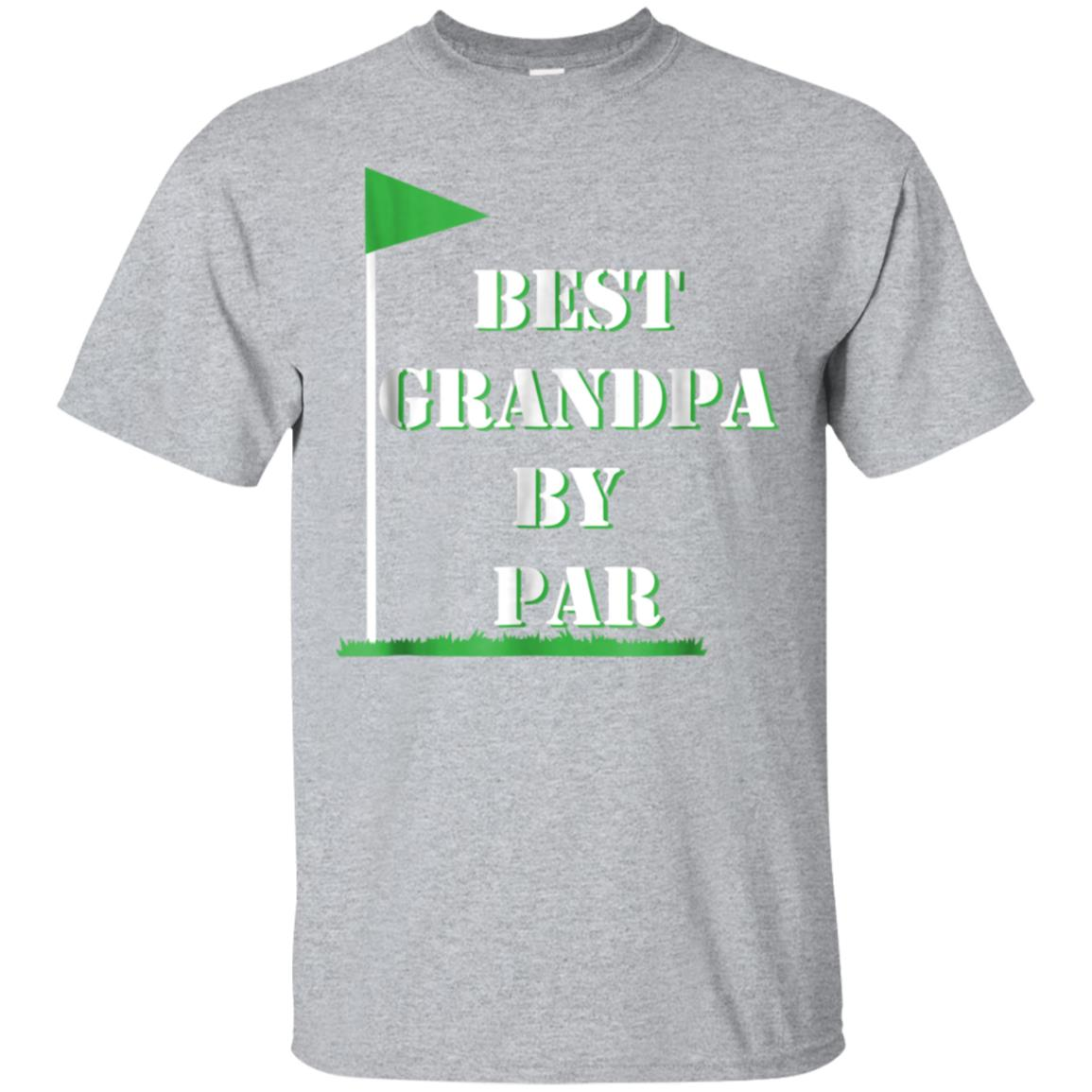 5ab50892 Awesome mens father's day best grandpa by par funny golf gift shirt -  99promocode