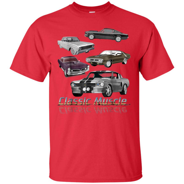 98fa4b4d Awesome classic american muscle cars vintage gift t shirt - 99promocode