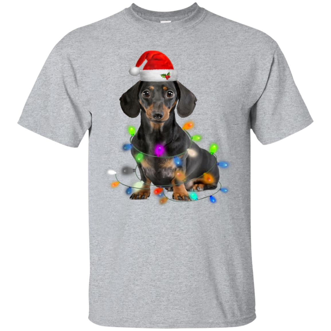 Dachshund Christmas T-Shirt Gifts Cute Dog Lovers 99promocode