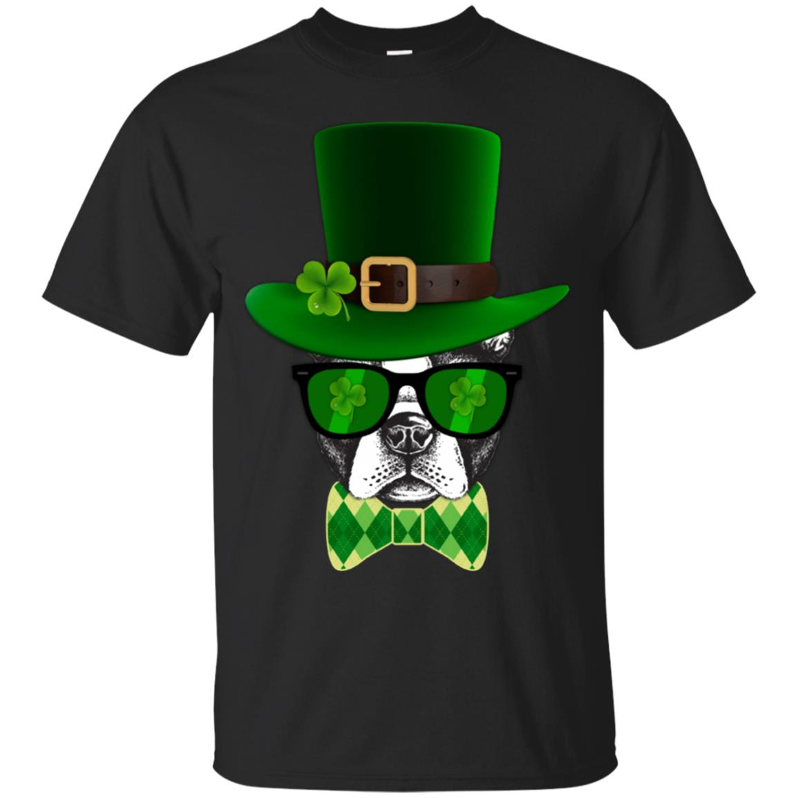 Boston Terrier Leprechaun Bow Tie shirt 99promocode