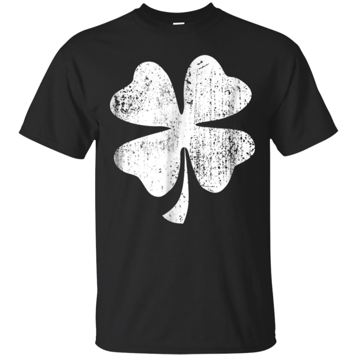 Vintage Style Clover St Patrick's Day T-Shirt 99promocode