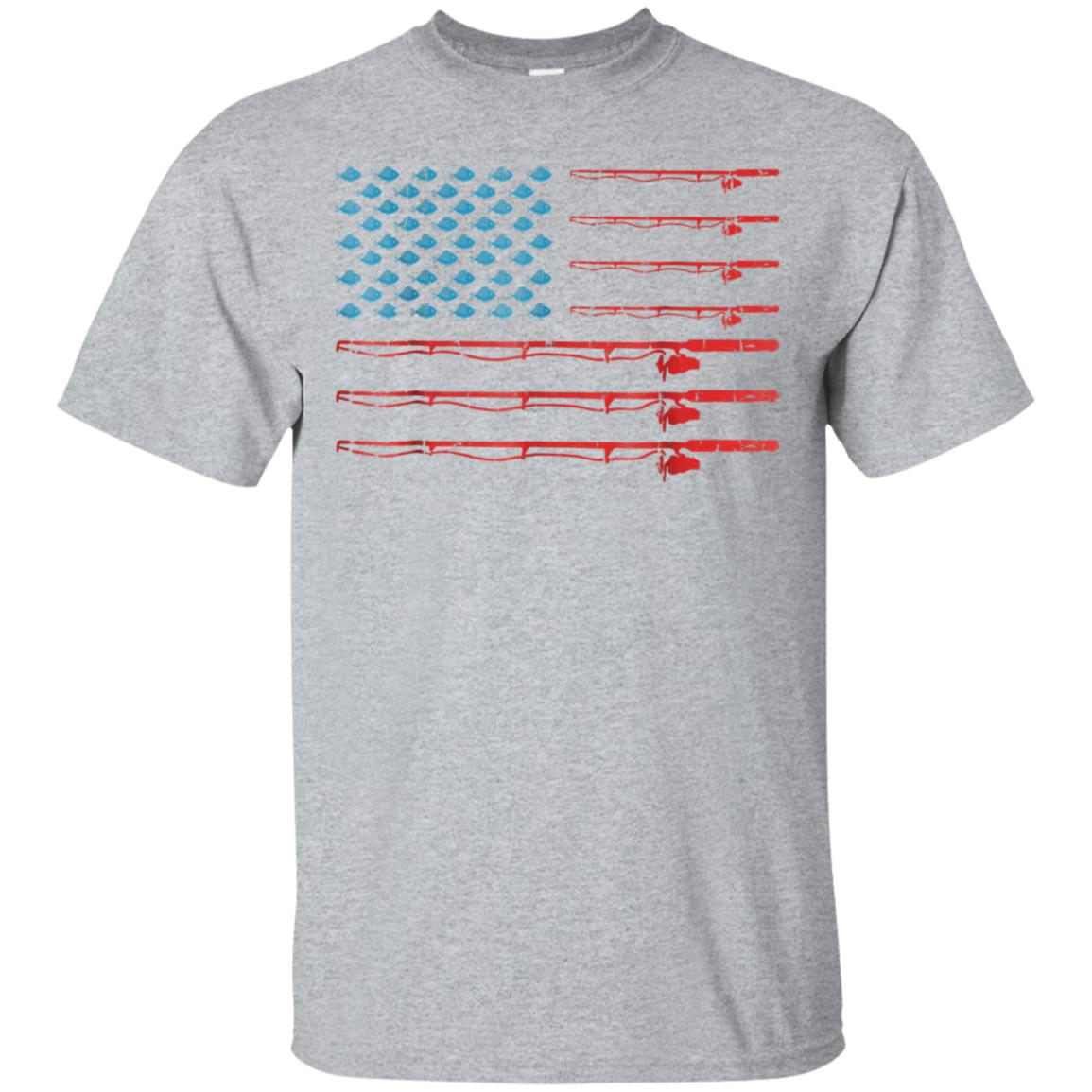 Fishing American Flag T-shirt Gifs For Who Loves Fishing 99promocode