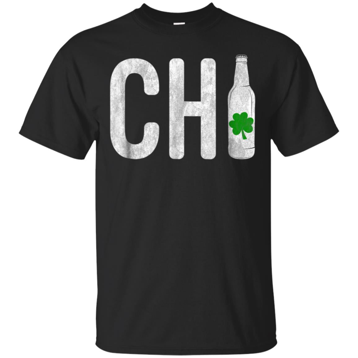 CHI Chicago Irish Beer Bottle St Patricks Day T Shirt 99promocode