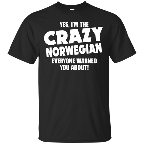 I'm the Crazy norwegian