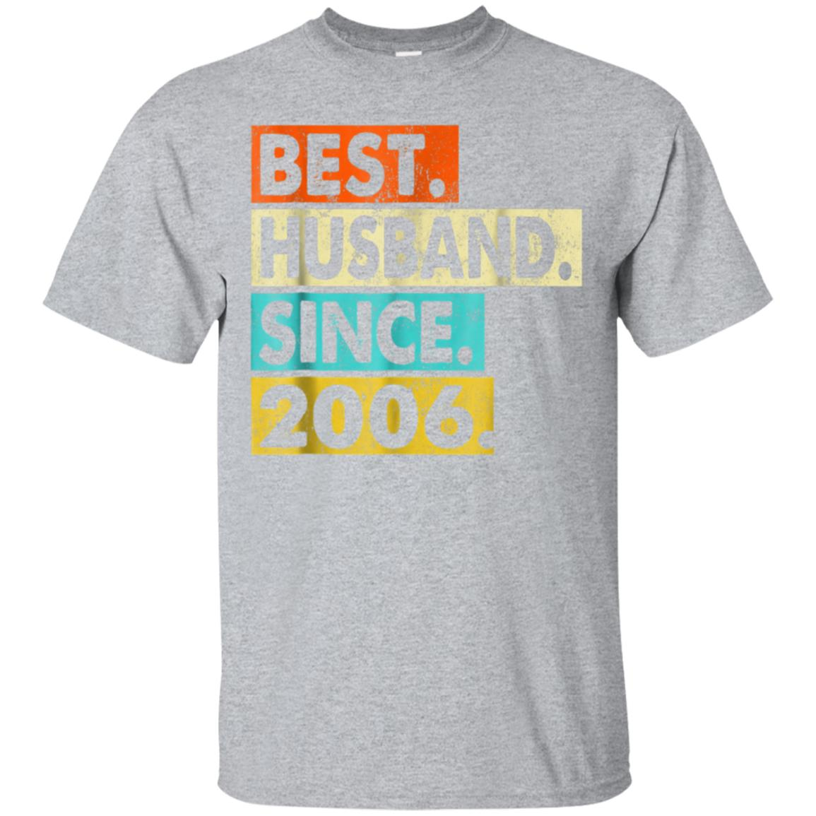 12th Wedding Anniversary Gifts - Husband Since 2006 Shirt 99promocode