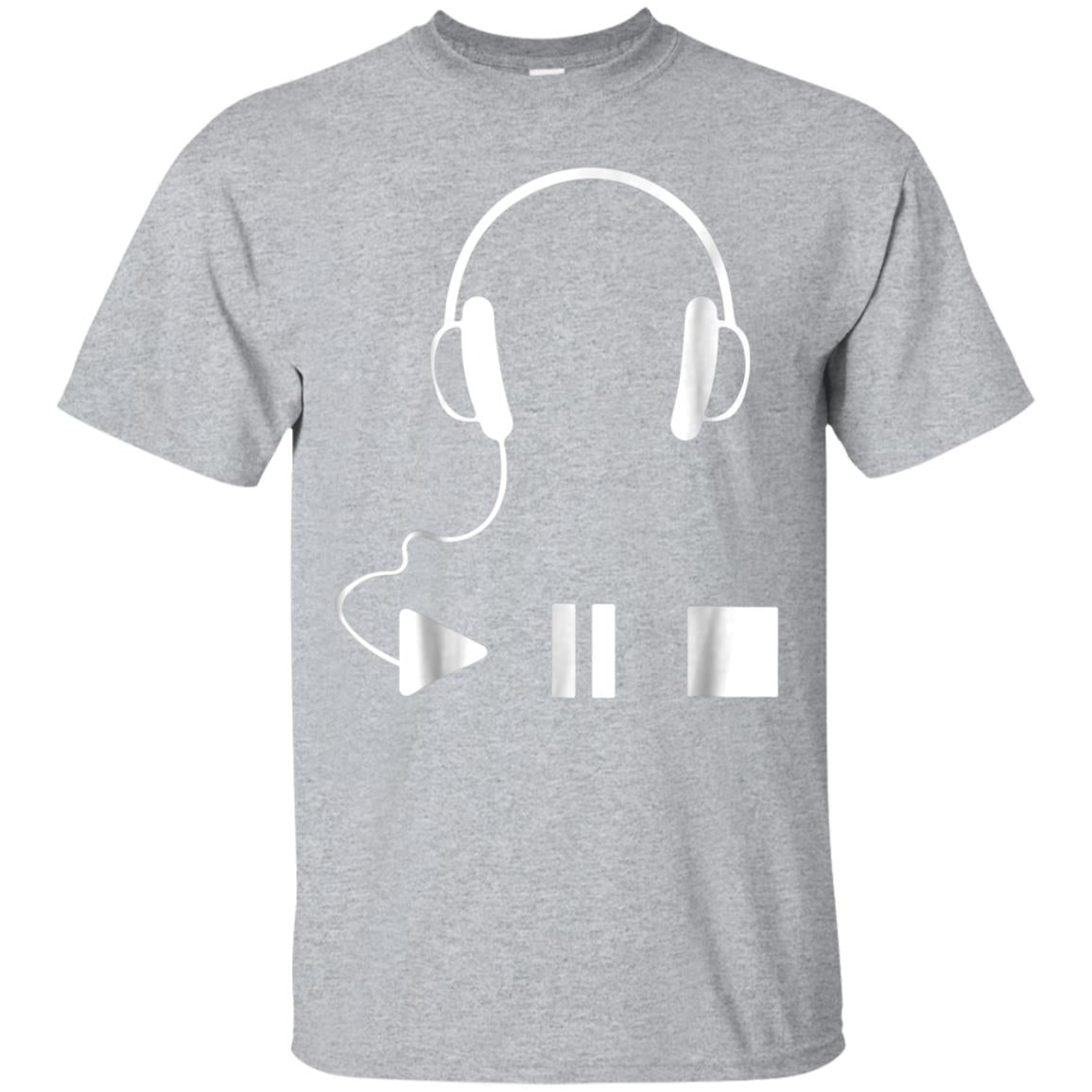 Music headphone T-shirt for Music Lovers 99promocode