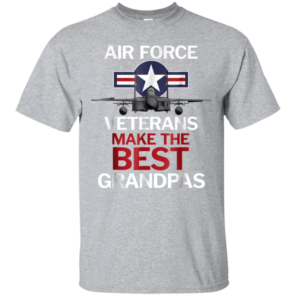 Air Force Veterans Make the Best Grandpas T-Shirt 99promocode