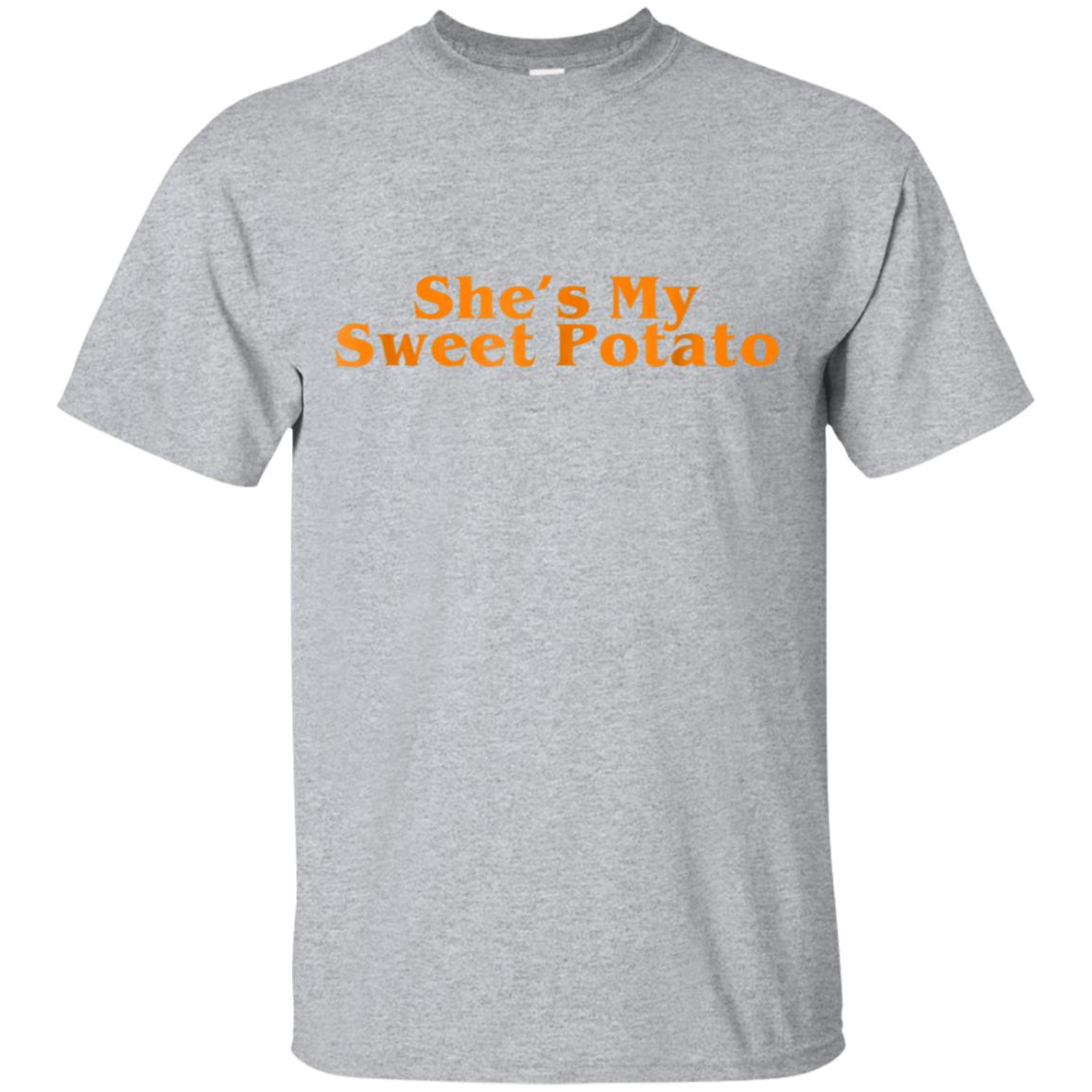 Shes My Sweet Potato Shirt, Couple Shirts for Him and Her 99promocode