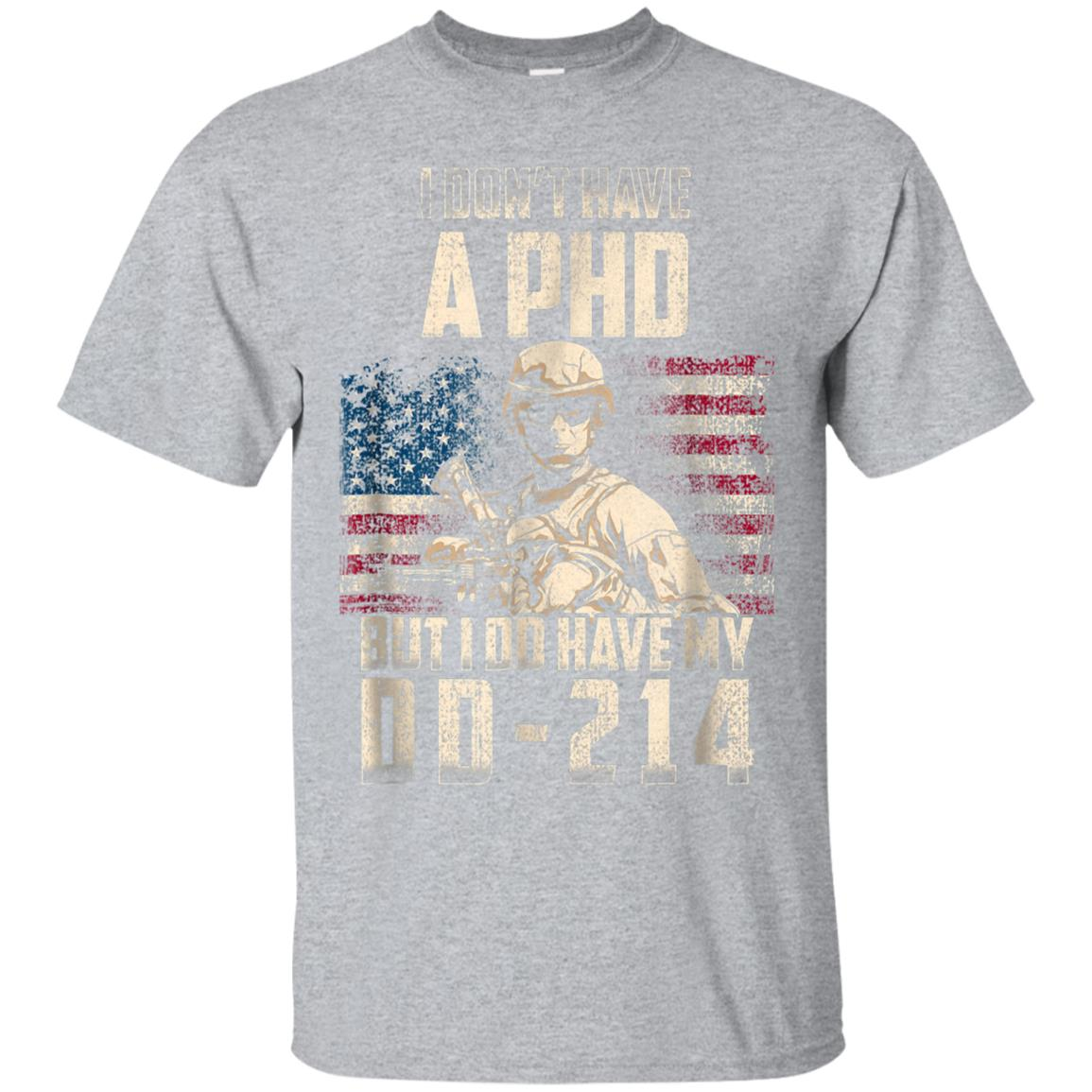 I Do Have My DD-214 Distressed Shirt Veteran's Day Gift 99promocode
