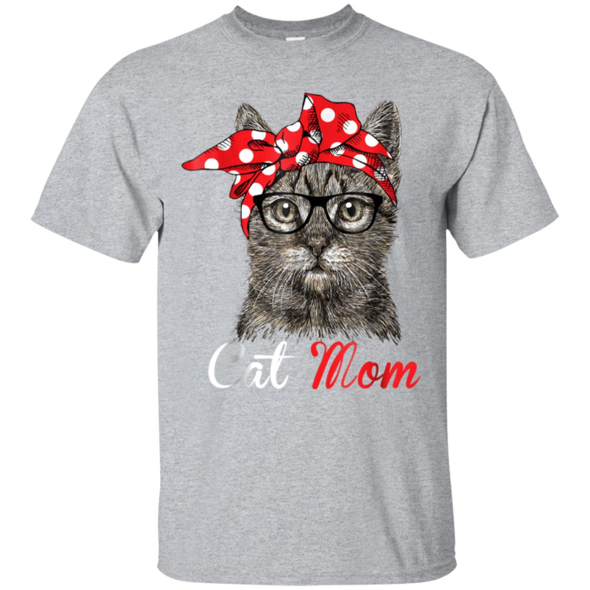 Funny Cat Mom Shirt for Cat Lovers-Mothers Day Gift 99promocode