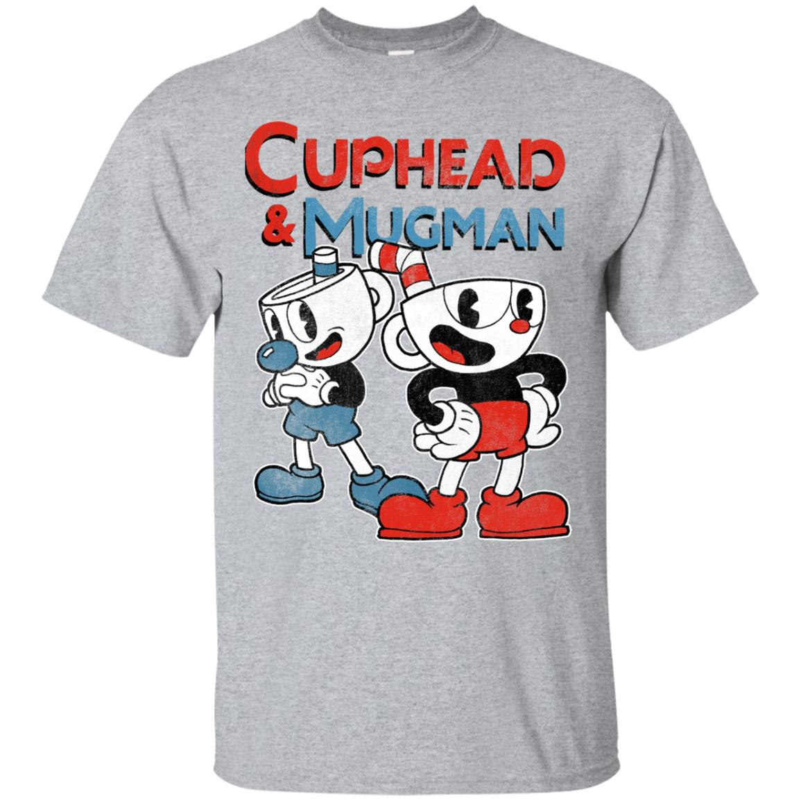 Cuphead & Mugman Dynamic Duo Graphic T-Shirt 99promocode