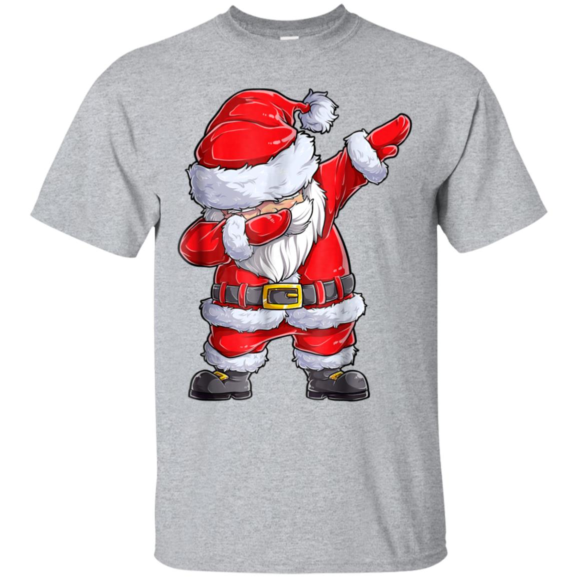 Dabbing Santa Shirt Christmas Boys Kids Men Xmas Gifts Tees 99promocode