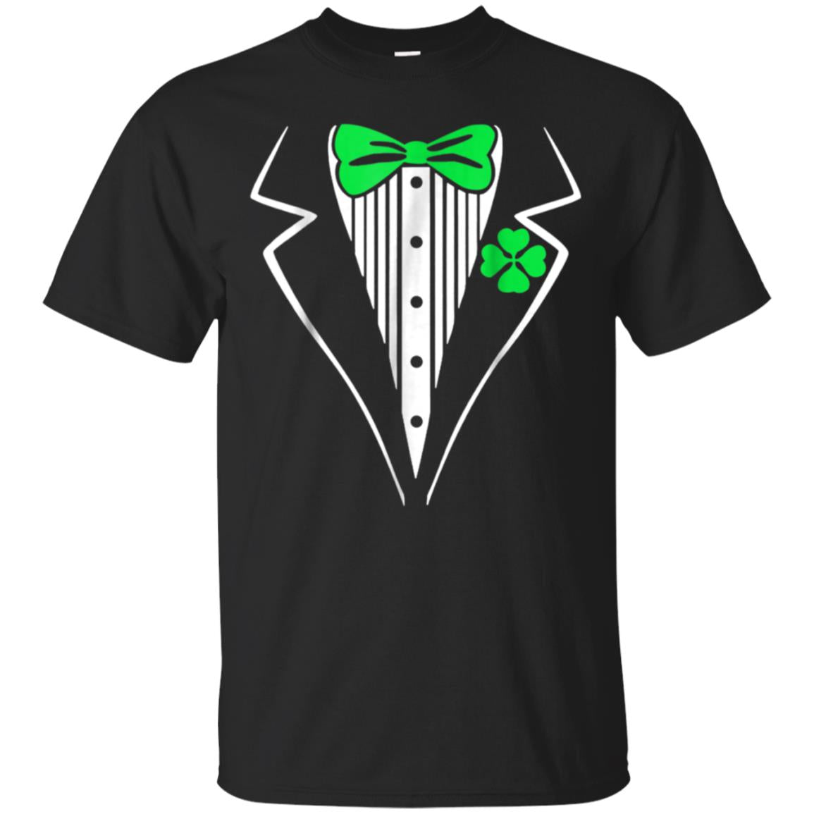 St. Patrick's Day Tshirt Tuxedo Lucky Irish Men Women Kids 99promocode