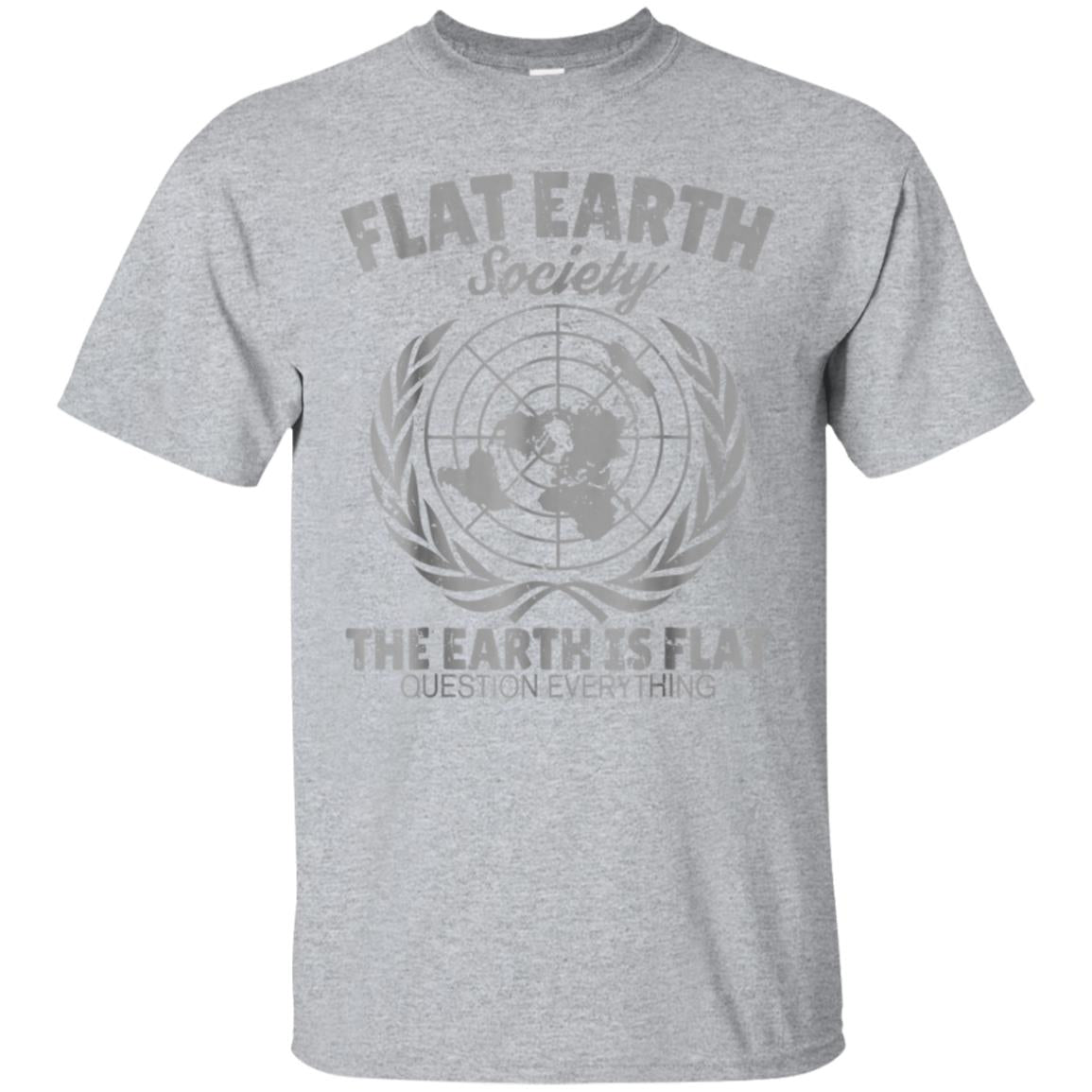 Flat Earth Society T-Shirt 99promocode