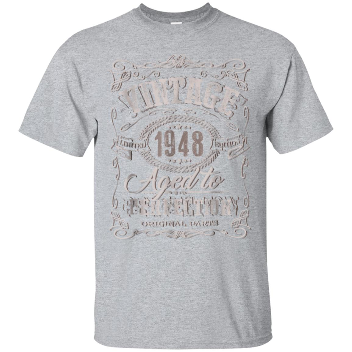 70th Birthday gift shirt Vintage dude 1948 70 year old shirt 99promocode